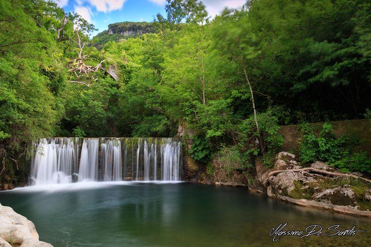 Cascata sotto il borgo di Laurino (Cilento) #cilento #photography #laurino #italy #campania #waterfalls