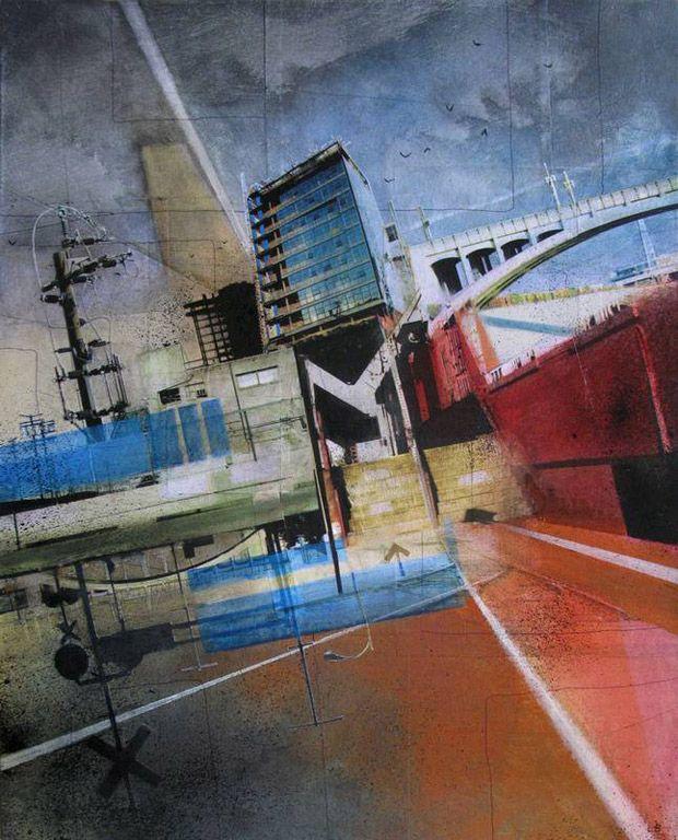Urban City Life Paintings – Liz Brizzi