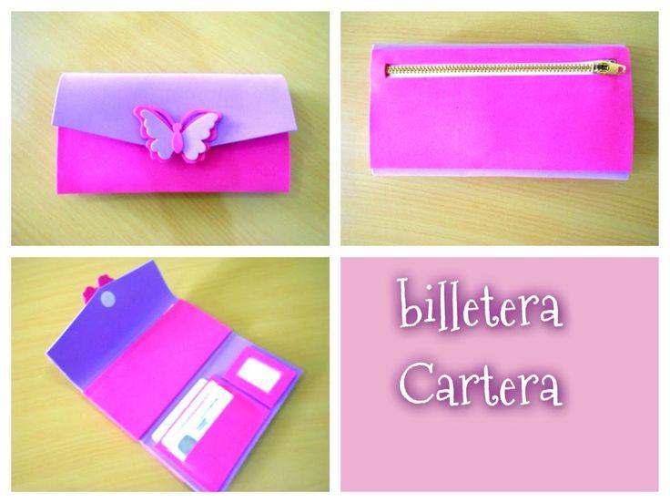 DIY como hacer una billetera/cartera paso a paso