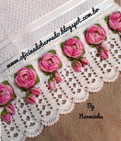 Croche - Um BARRADO bem especial ... | OFICINA DO BARRADO | Bloglovin'