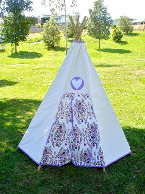 another teepee tutorial