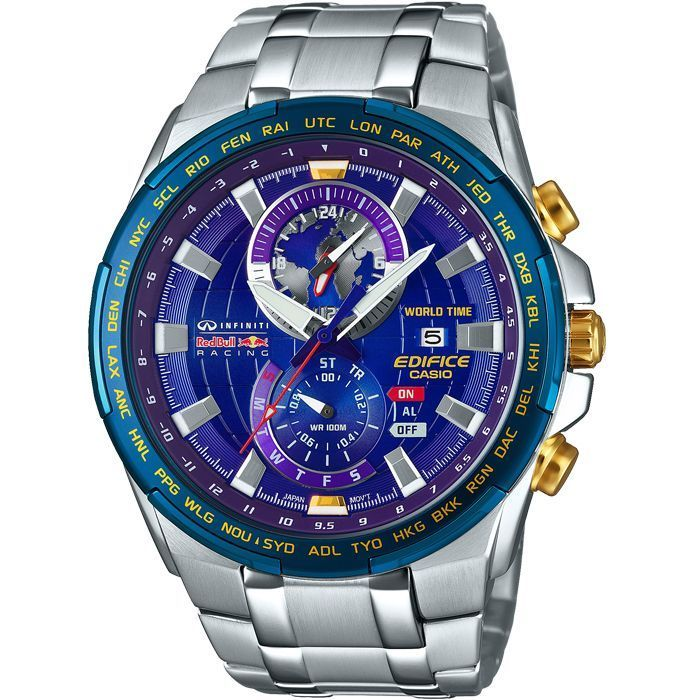 Casio Edifice Red Bull | CASIO MEN'S EDIFICE RED BULL LIMITED EDITION CHRONOGRAPH WATCH EFR ...