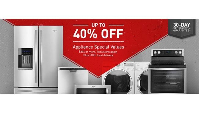 Black Friday 2016 Appliance Sale Launched at Home Depot, Lowe's, Sears and Best Buy