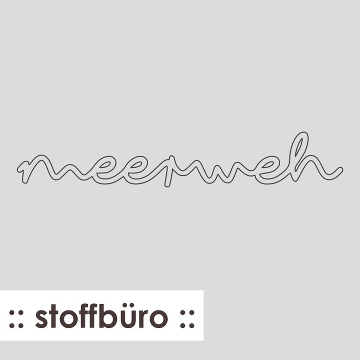 """:: stoffbüro :: """"Meerweh"""" (Freebie-Plotterdatei)"""