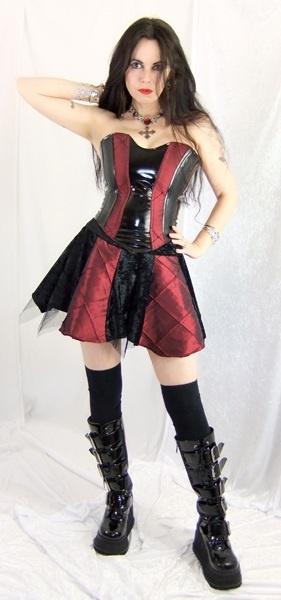Elizalily Corset by Moonmaiden Gothic Clothing UK === I want!