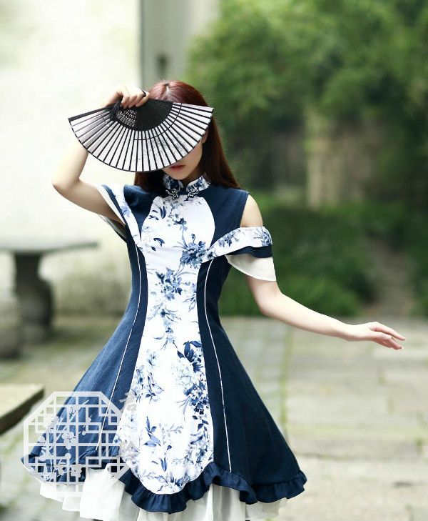 --> Pre-order: JunLing ***Flower Shadows*** Qi Lolita OP Dress --> Brand: Brand: Junling (an indie and popular Taobao brand) --> Learn More: http://www.my-lolita-dress.com/junling-flower-shadows-qi-lolita-op-dress-jl-1