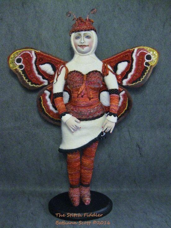 The Moth Fairy  by Bethann Scott ©2016
