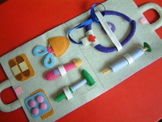 Felt medical kit