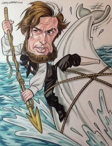 Gregory Peck...Captain Ahab from Moby Dick