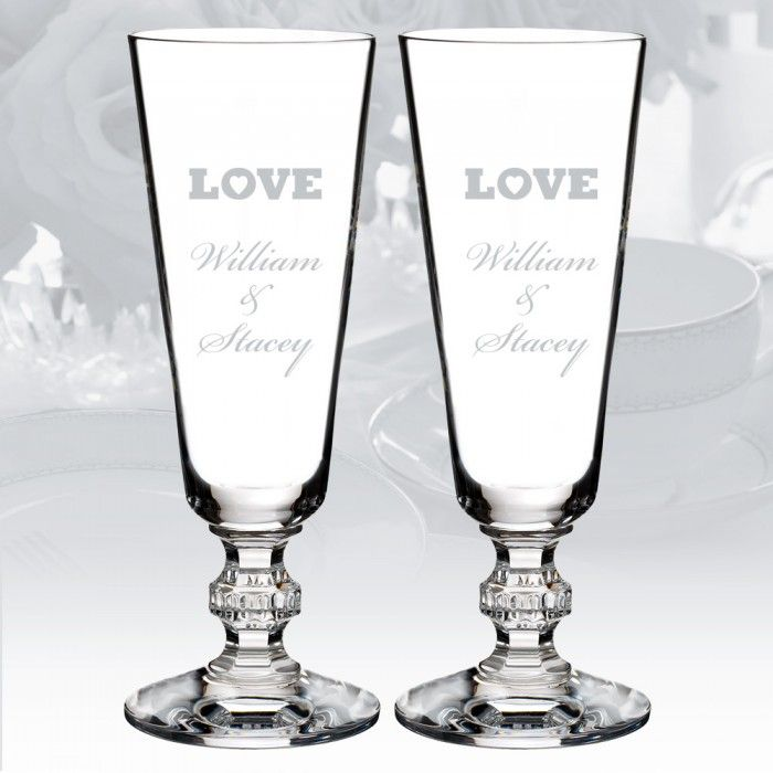 The Waterford Town & Country Ashton Lane Flute Pair ($95)