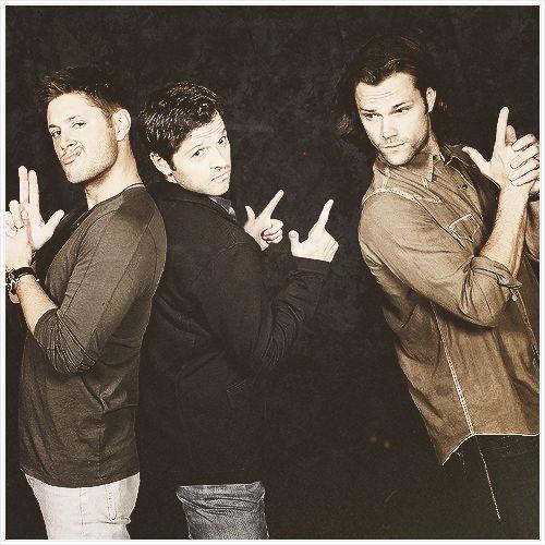 Misha, Jensen, and Jared