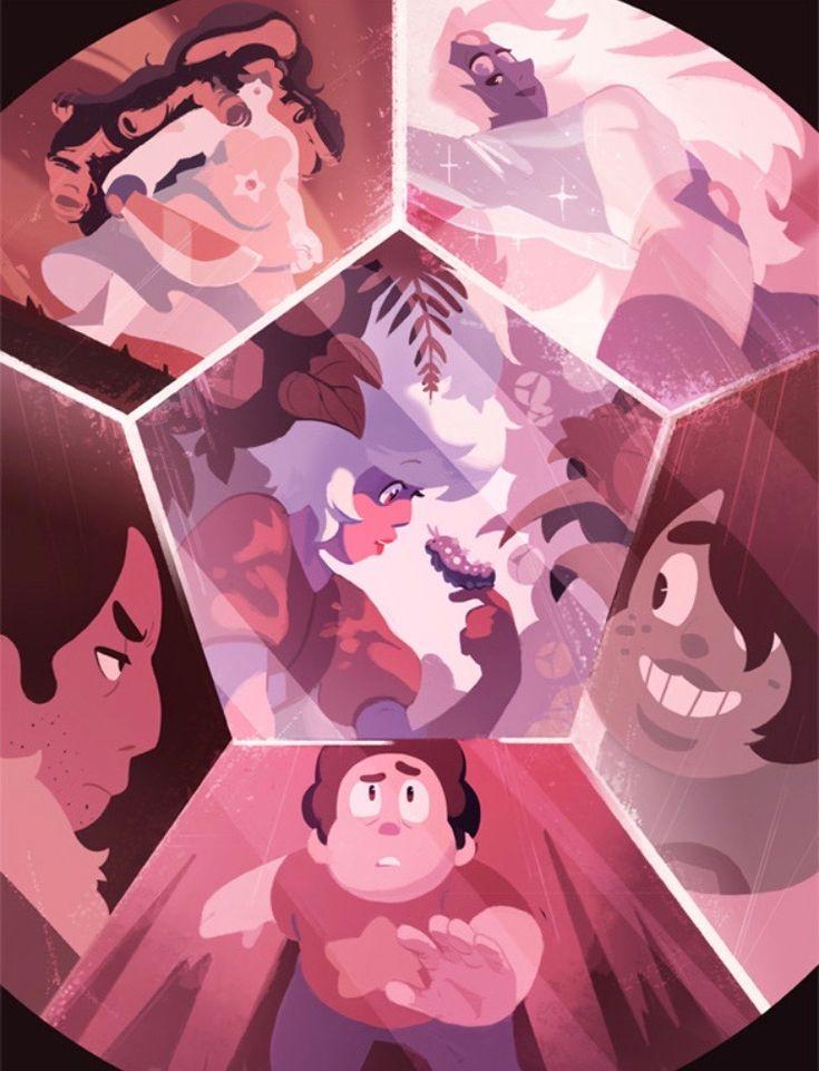 Pin De Rocky Lykins En Steven Universe Steven Universe Diamantes Fondos De Steven Universe Steven Universe