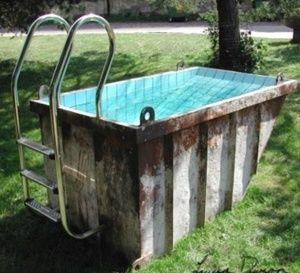 Piscines improvisées et insolites ! Des piscines fait maison..
