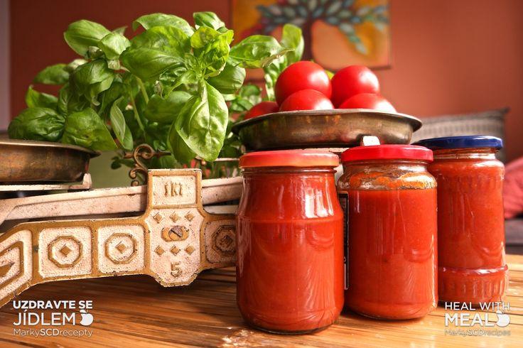 Kečup a rajčatová omáčka – 2 recepty 1 ranou