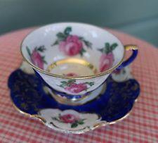 Armario vintage Royal Heidelberg Winterling Bavaria Taza platillo demitasse oro