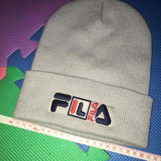 FILA(フィラ)のFILA ビーニー ニット帽 レディースの帽子(ニット帽/ビーニー)の商品写真