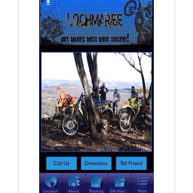 Hospitality Apps proudly welcomes Lochmaree Dirt Bike Farm to the App Store!