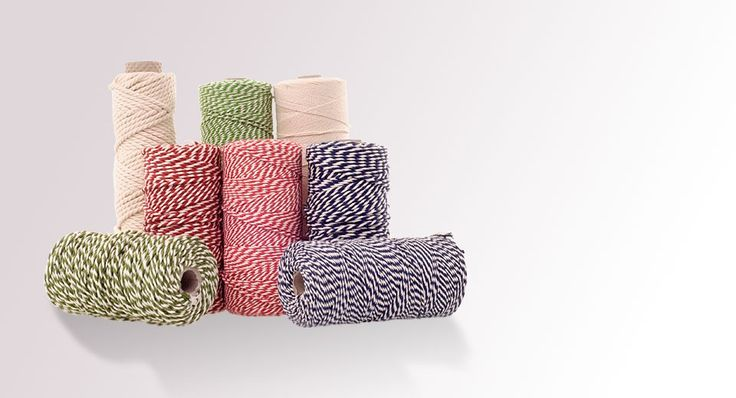 baker's twine for craft projects and gift wrapping