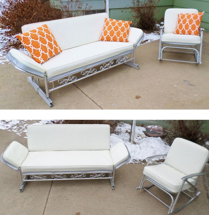 darlee cast glider bench gliders patio nassau ultimate aluminum