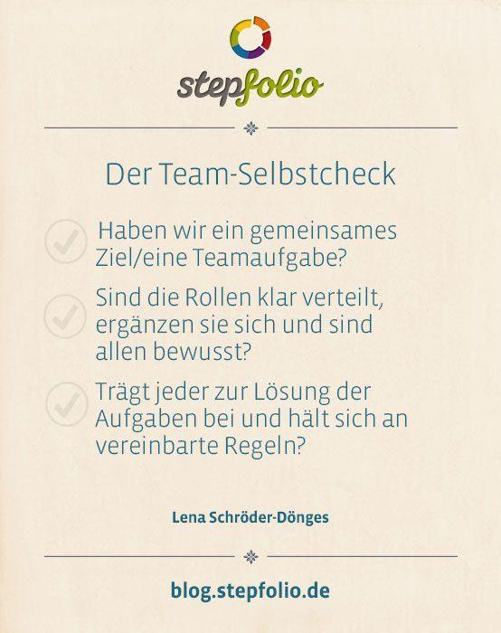 Diesen Team-Check können Sie durchführen: -Haben… – #Diesen #durchführen #h…