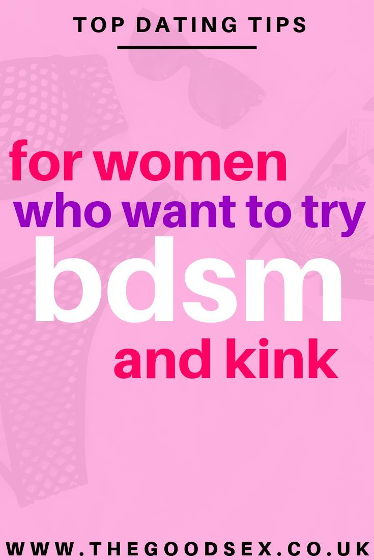 Bdsm relationship advice