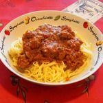Sauce à spaghetti avec boulettes