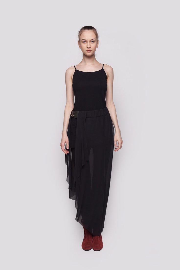 RUBRA Belt Skirt