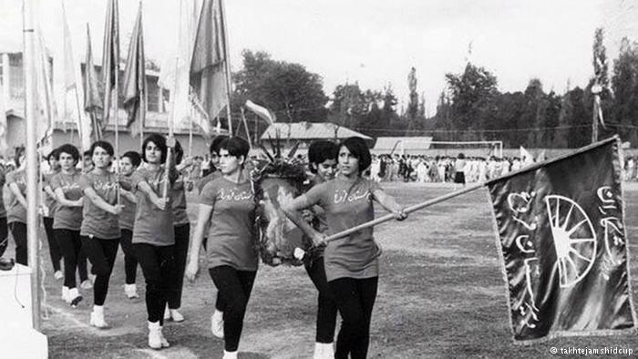Iranische Frauen und Leichtathletik (takhtejamshidcup)