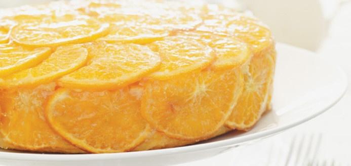 Gâteau glacé à la clémentine Recettes   Ricardo