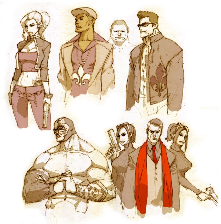 Saints Row 4 Anime Characters : Images about saints row boss on pinterest search