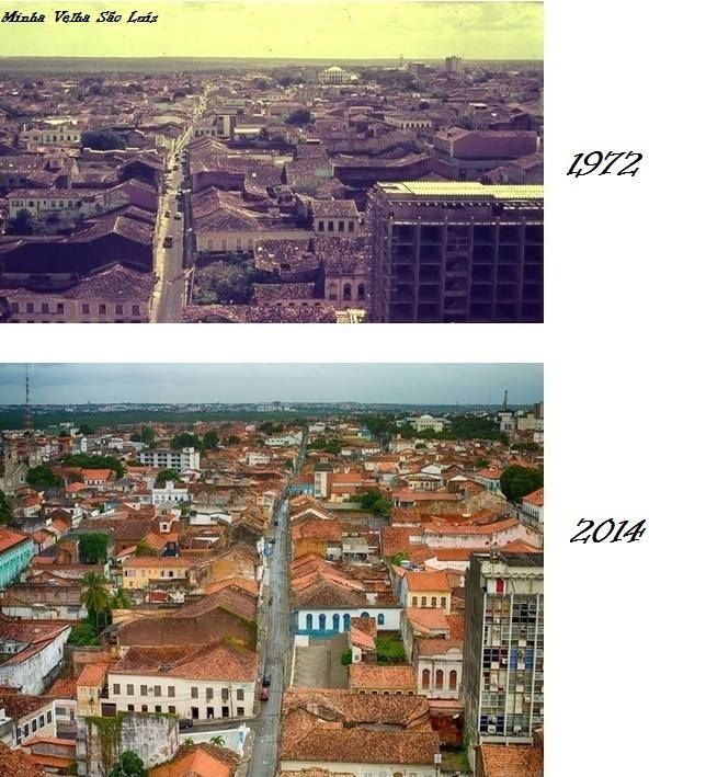 Rua dos Afogados (1972 e 2014)