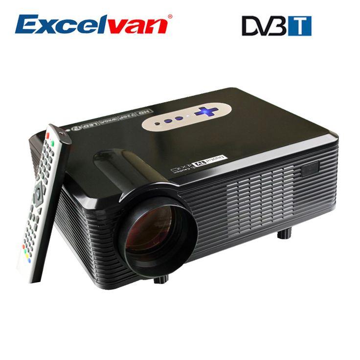 HOT Excelvan CL720D Projecteur 3000 Lumens HD Home Cinéma 720 P soutien 1080 P…