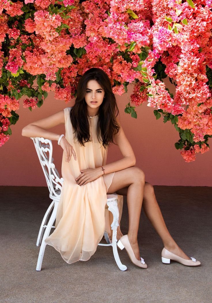 Flowers: L'ICONA | Camilla Belle for Salvatore Ferragamo.