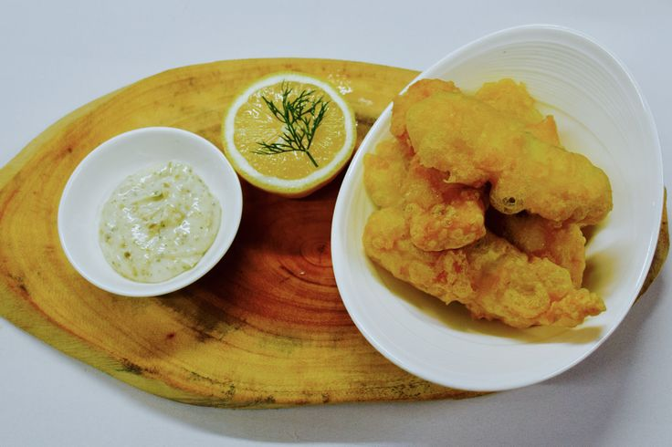 tempura sea bass