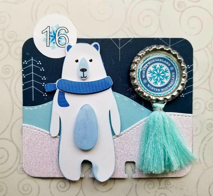 Merry Christmas Polar Bear SVG Cuttable Design
