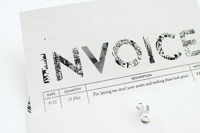 17 Best images about Invoices on Pinterest Self branding, UX\/UI - invoice logo
