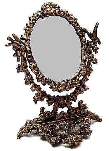 Furniture industrial revolution victorian era for Fancy vanity mirror