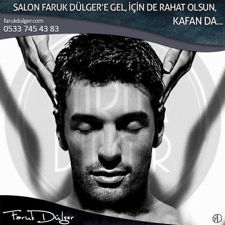 #Salon Faruk Dülger'e gelenlerin içi de, kafası da rahat. #Profesyonel #bakım Salon Faruk Dülger'de. #erkek #saç #bursa #fsm #erkekkuaförü #erkekbakım #kafa