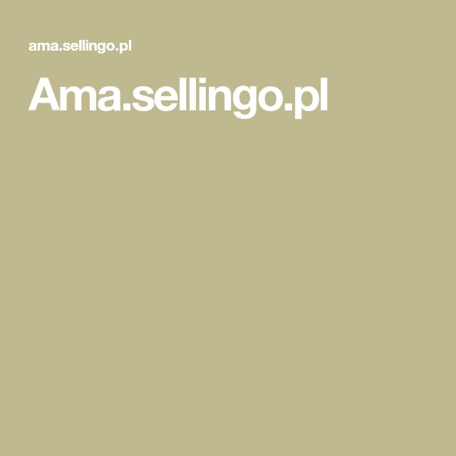 Ama.sellingo.pl