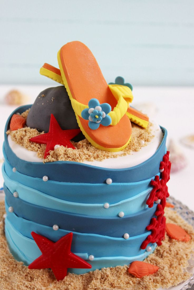 Torta playera. Que lo disfruten!