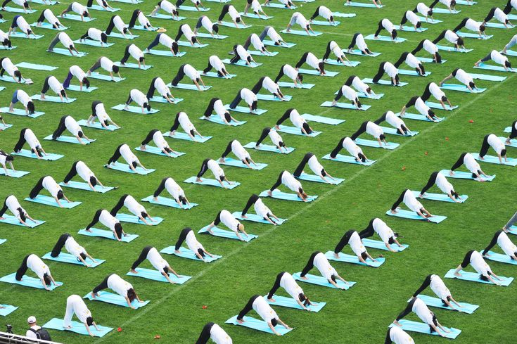 Here's What International Day Of Yoga Looked Like Around The World