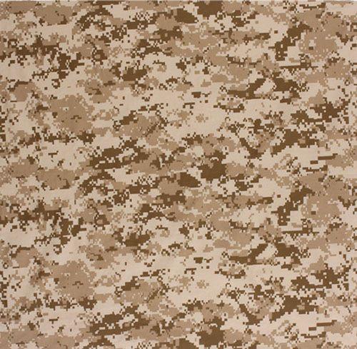 desert Camouflage Pattern | Bandana: Desert Camo
