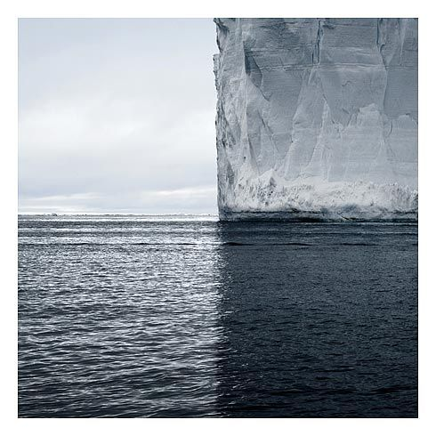 David Burdeny Mercators Projection, Antarctica 2007 https://www.facebook.com/3dfirstaidvisualarchitecture/