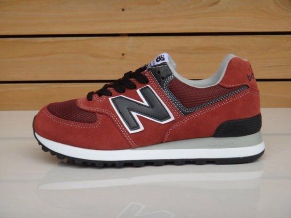 Joes New Balance ML574NCL Black Classic Red American Hult Mens Shoes