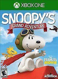 Peanuts Movie: Snoopy's Grand Adventure (Microsoft Xbox One, 2015) New Free Ship