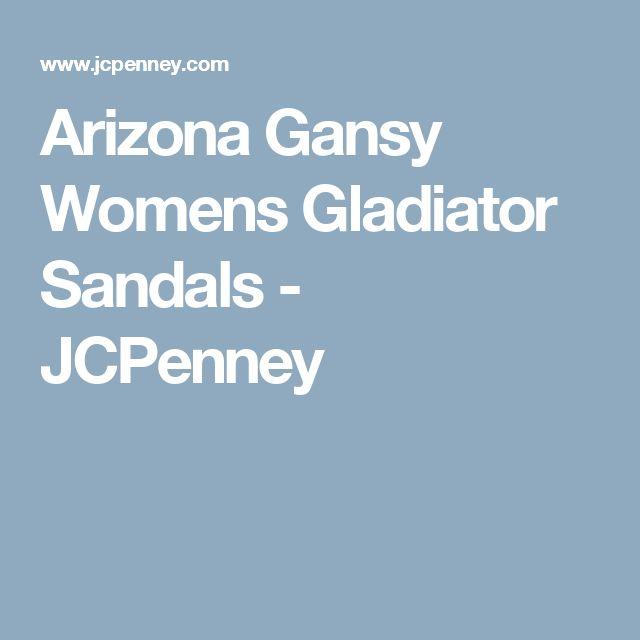 Arizona Gansy Womens Gladiator Sandals - JCPenney