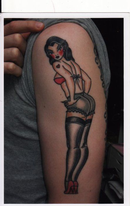41 best burlesque inspiration images on pinterest for Sailor jerry pin up tattoos