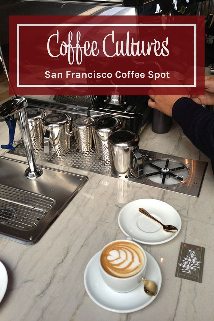 Coffee Cultures is a San Francisco coffee shop to check if you are in the Financial District. San Francisco coffee. Where to go for coffee in San Francisco.