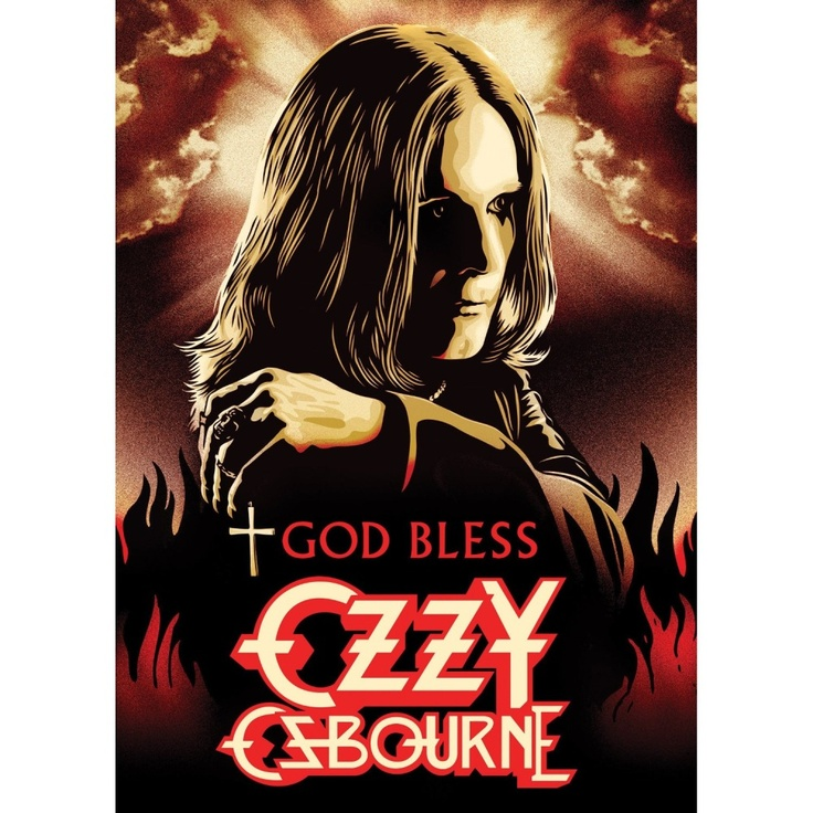 Ozzy Osbourne God Bless