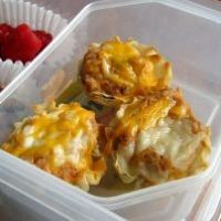 Authentic Mexican Phyllo Cups Recipe...I'd probably substitute black ...